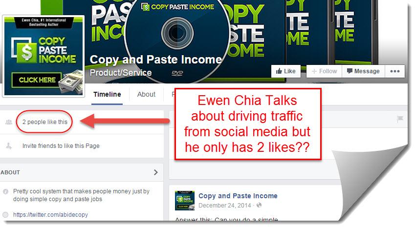 copy paste income community