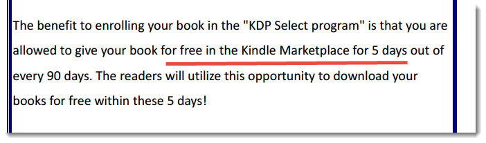 kindle ebook trick