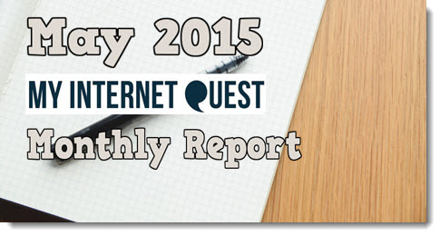 may 2015 monthly report