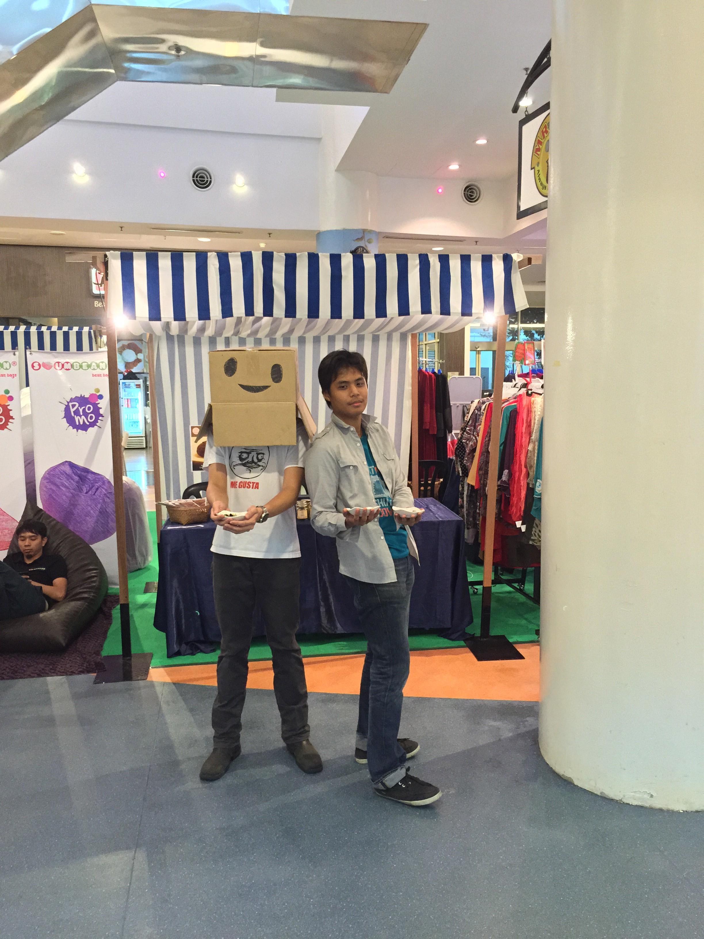 fariz and azizi mascot