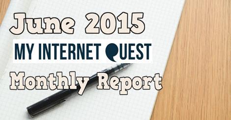 june 2015 monthly report