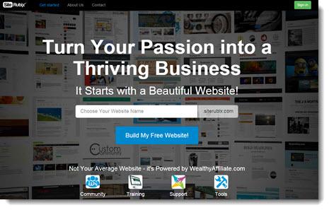 site rubix home page