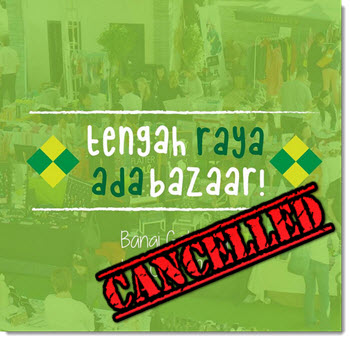 Bazaar cancelled