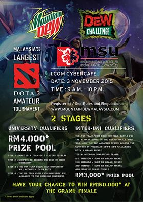 dota tournament at MSU