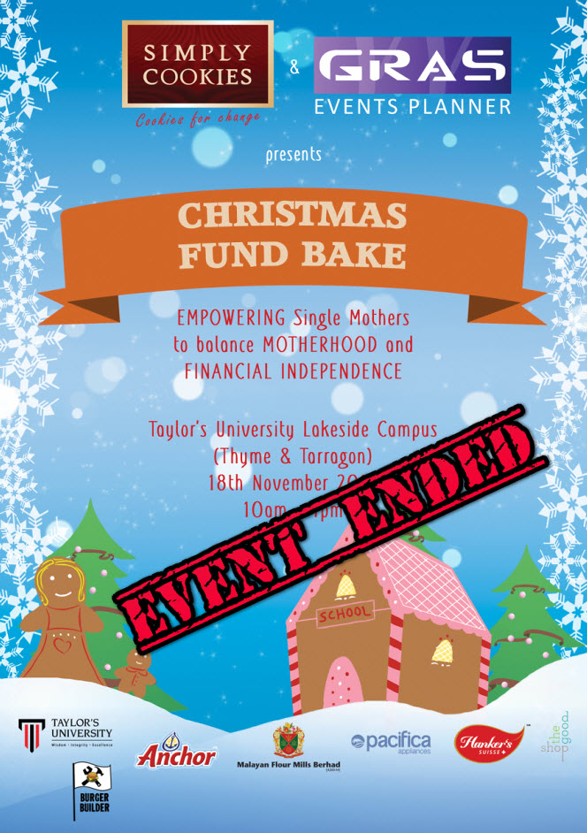 Christmas Fund Bake ended