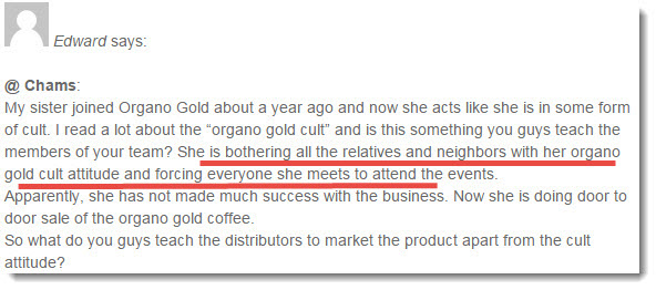 organo gold complaint 2