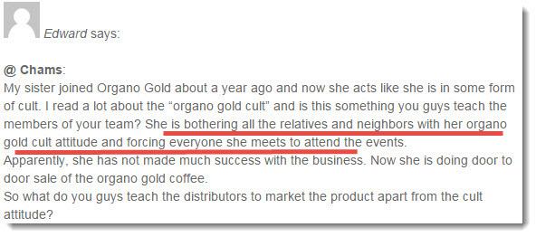 organo gold complaint 2
