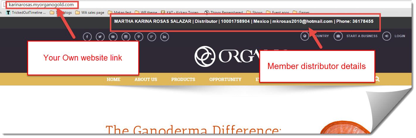 organo gold website affiliate