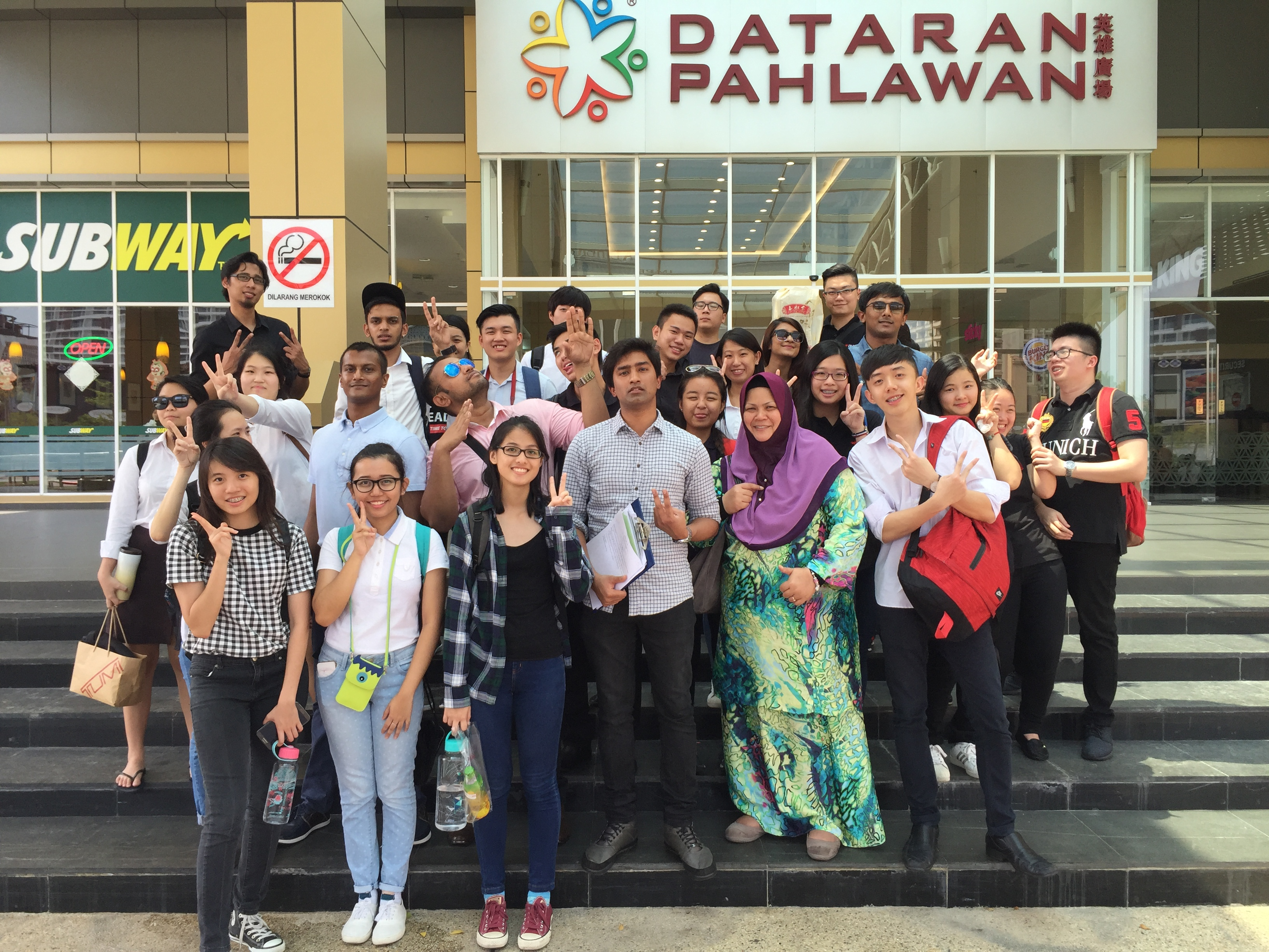 Melaka educational trip with Riaz