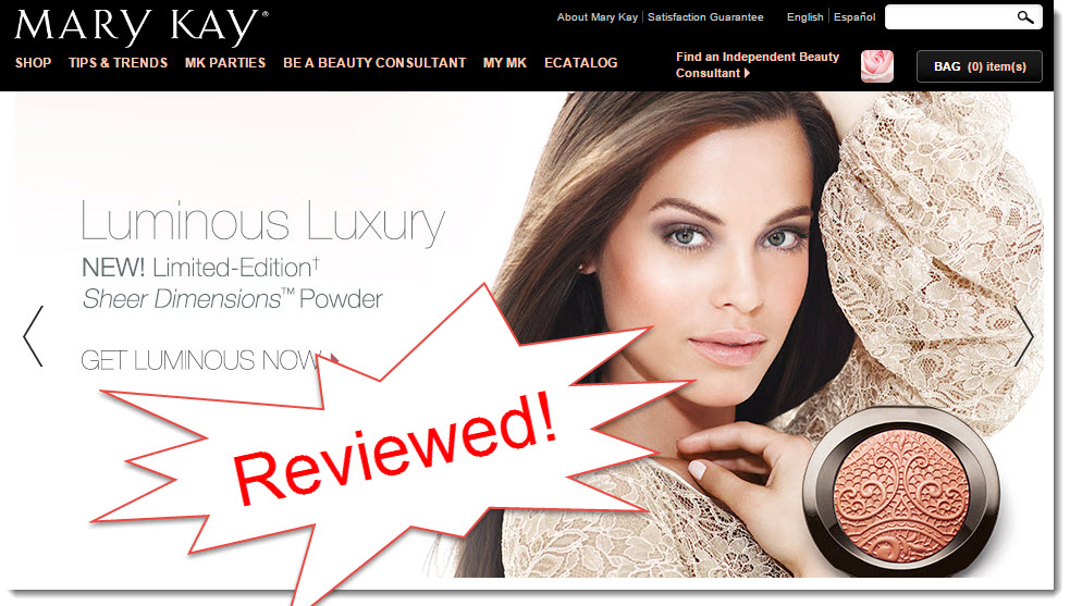 mary kay reviewed by my internet quest