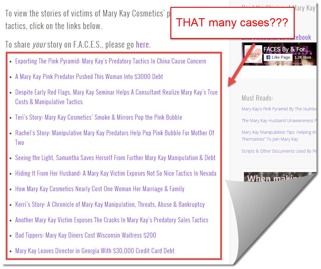 mary kay victims