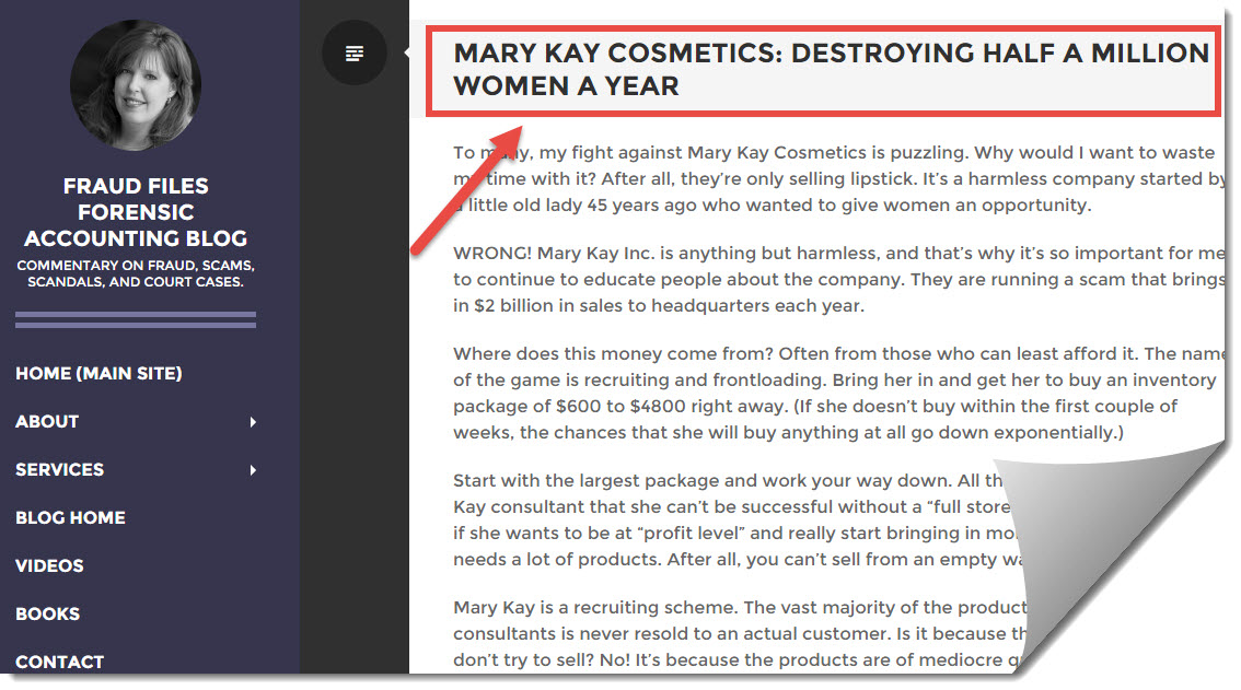 sequence inc mary kay