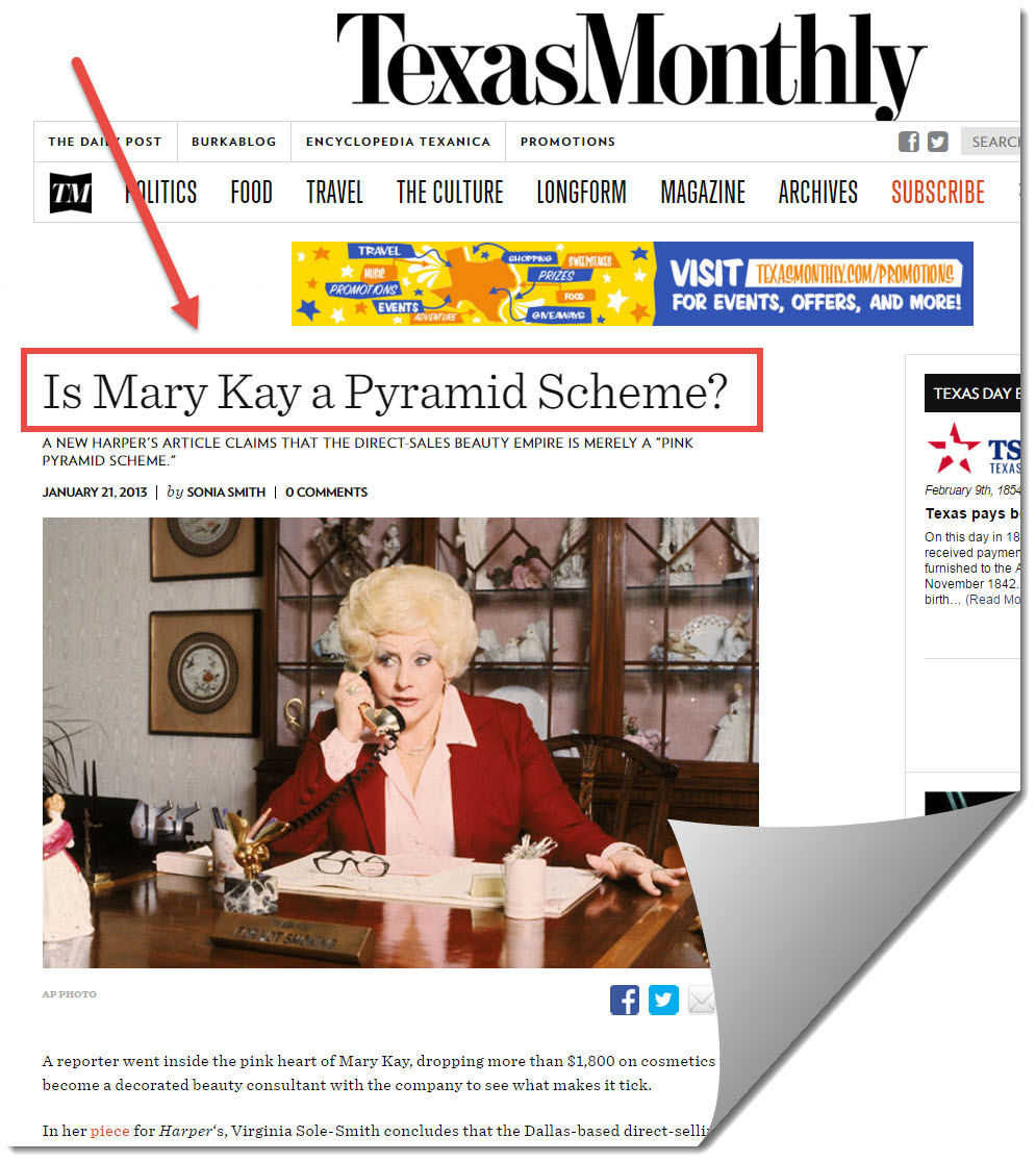 texas monthly mary kay