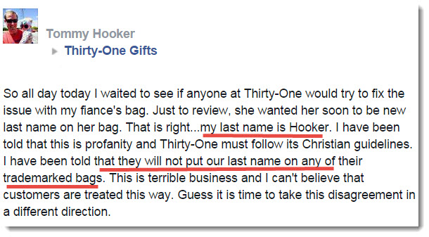 thirty one complaint 2
