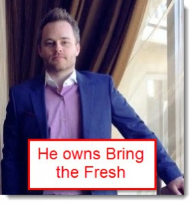 Kelly Felix owns bring the fresh