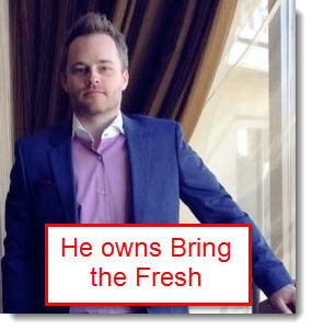 Kelly Felix owns bring the fresh