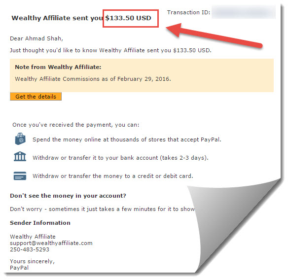 wealthy affiliate commissions for february