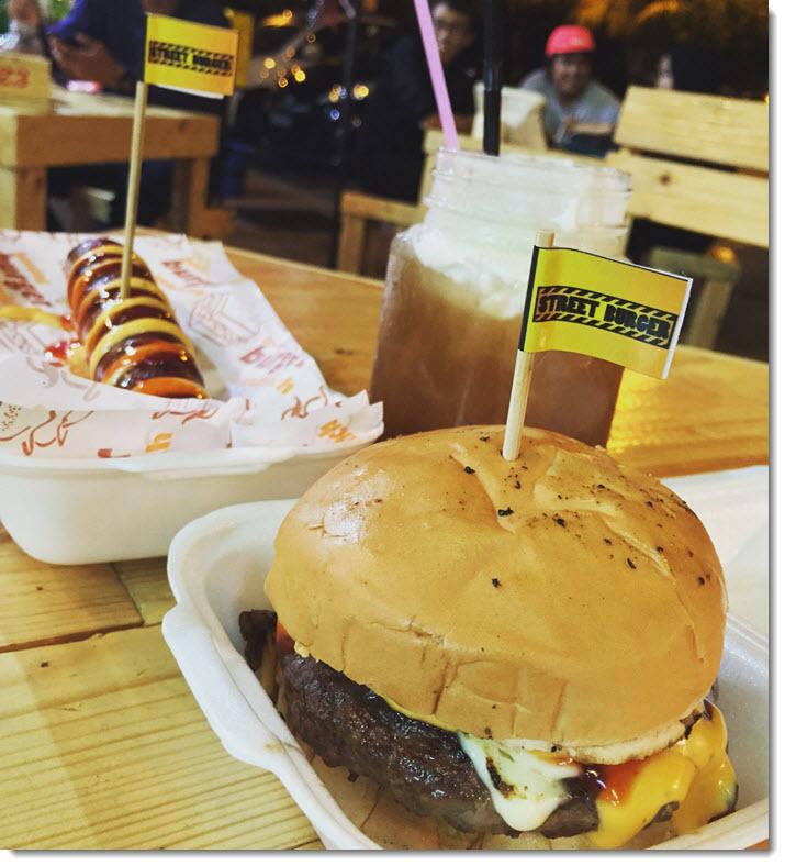Gangsta Burger by Street Burger