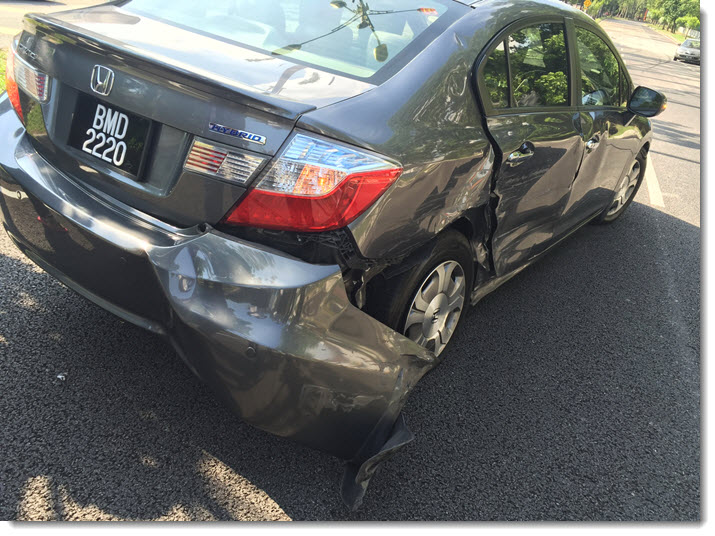 my car accident in shah alam