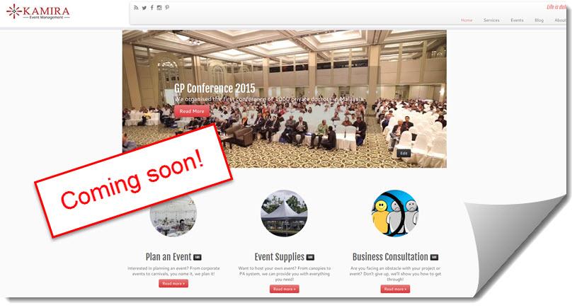 kamira-event-management-website-coming-soon