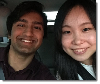 Met a Japanese girl on Uber