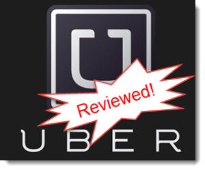 Uber review logo