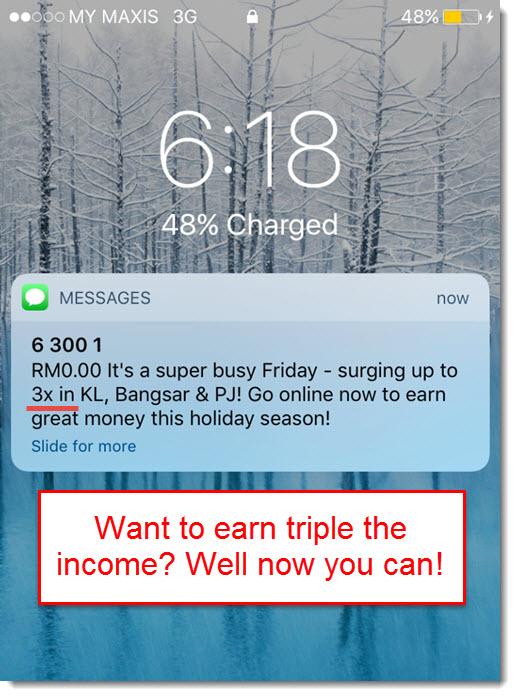 earn 3x more on Uber