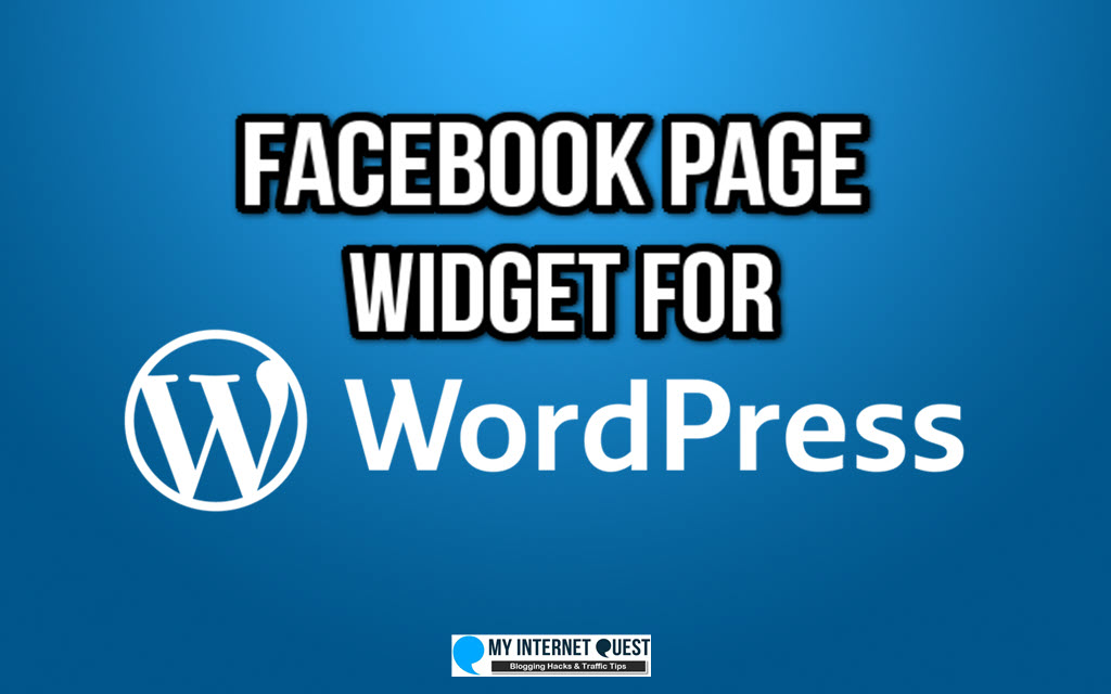 facebook page widget for wordpress cover