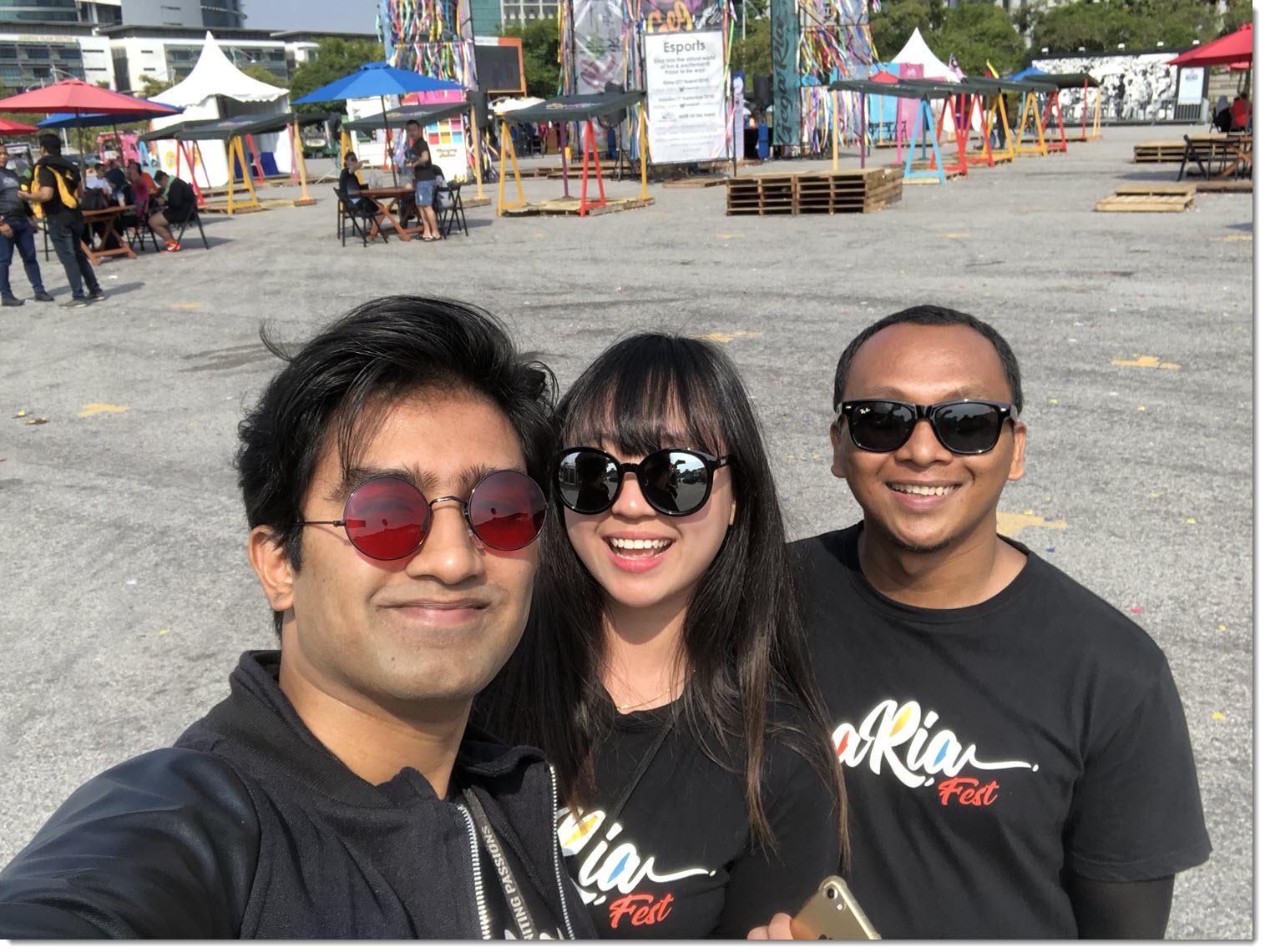 Me at Gegaria Putrajaya