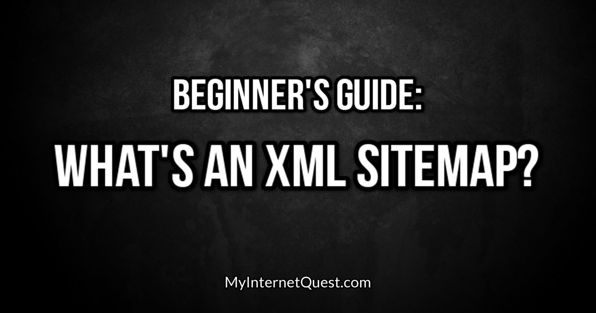 what is an xml sitemap thumbnail cover
