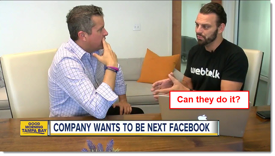 Webtalk wants to be the next facebook