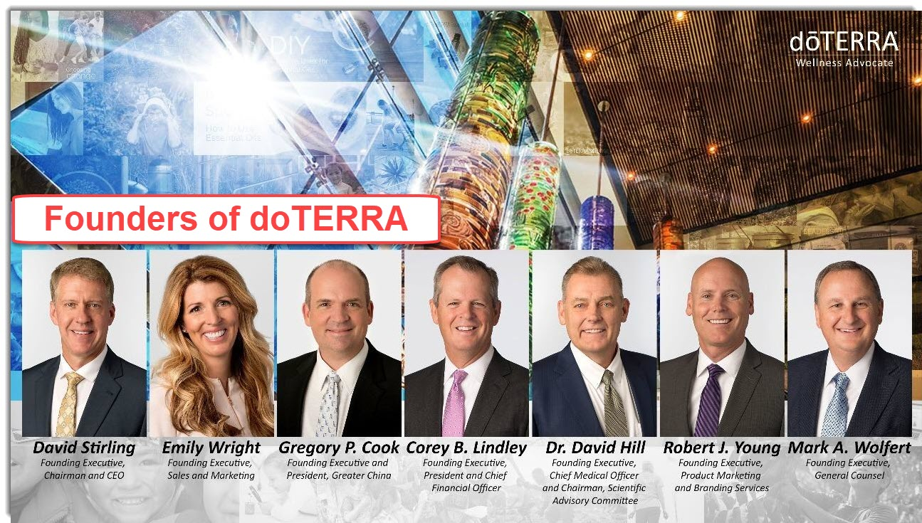doterra founders