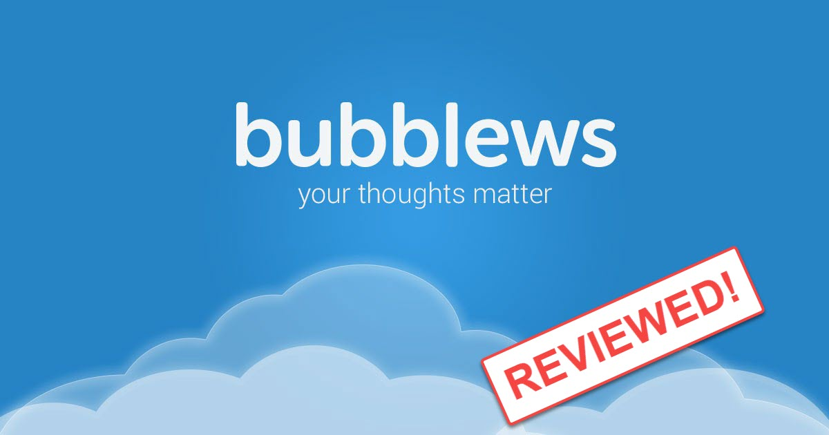 Bubblews Reviewed by My Internet Quest