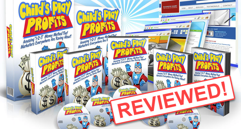Childs play profits reviewed by my internet quest