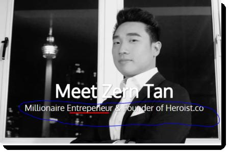 Zern tan entrepreneur