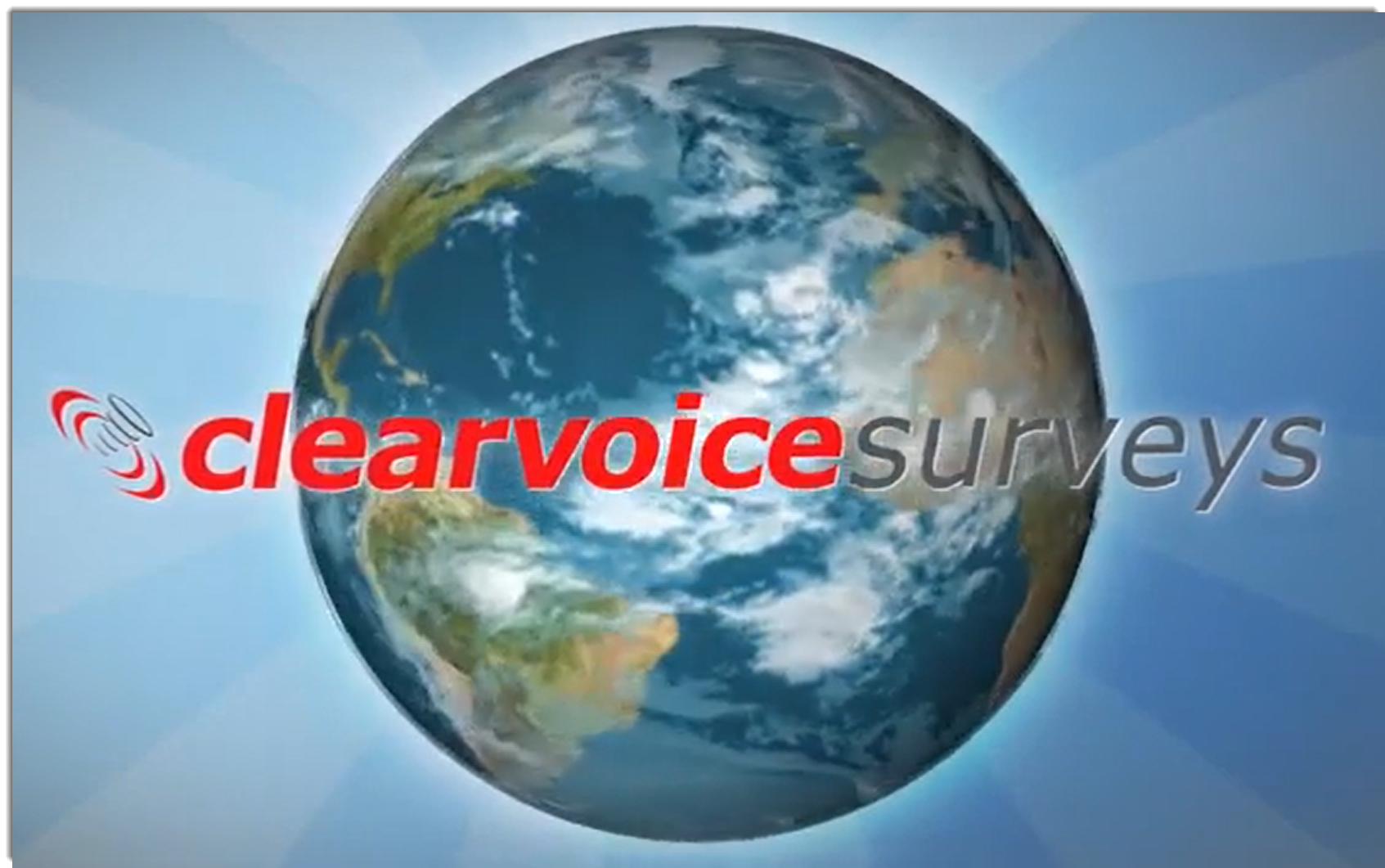 nice global image of clearvocie surveys