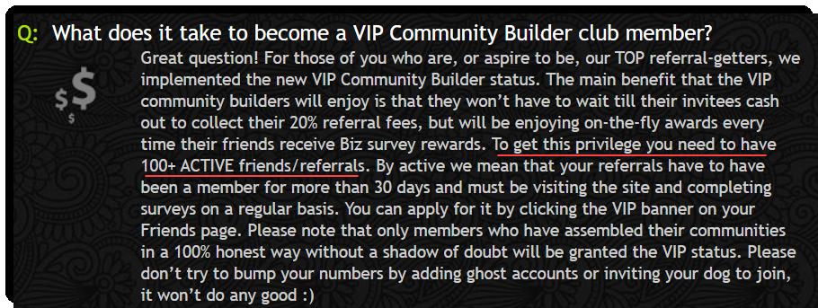 VIP Community Builder Club PaidViewPoint