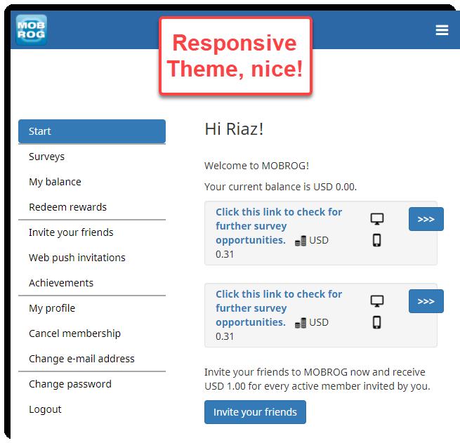 responsive theme mobrog