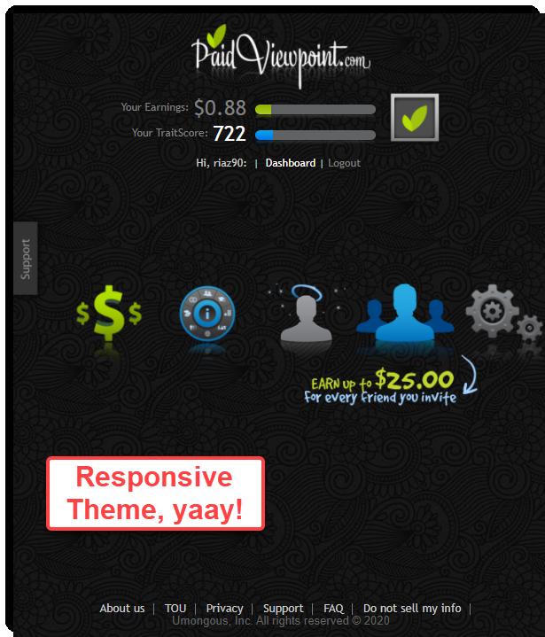 responsive theme paidviewpoint