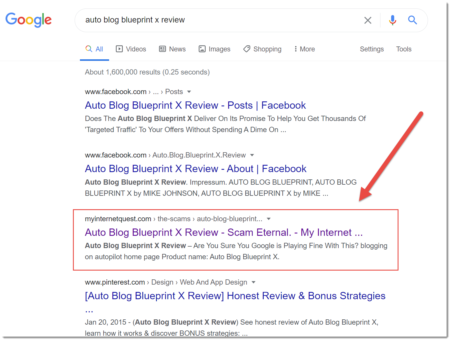 autoblog blueprint x google search results